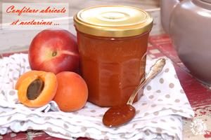 Confiture abricots et nectarines (Thermomix ou pas !)