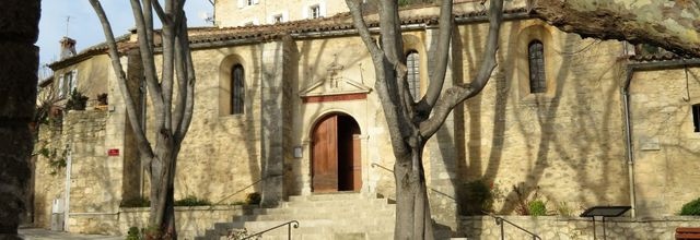 Le village d'Aurons (2) : l'église Saint Pierre-es-Liens
