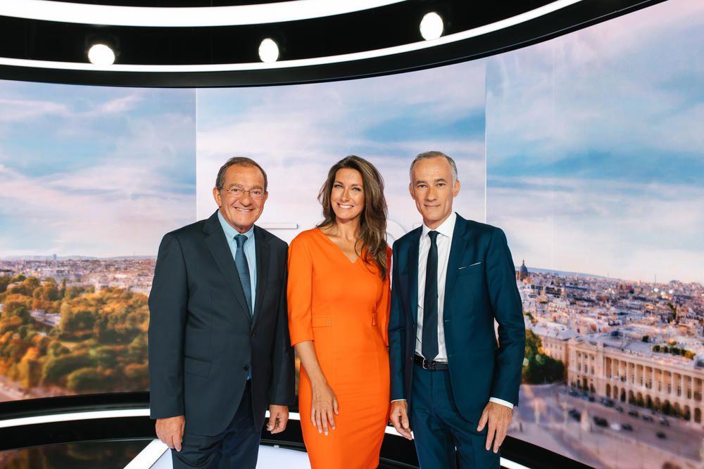 Jean-Pierre Pernault, Anne-Claire Coudray et Gilles Bouleau (© TF1/Benoit Florencon)
