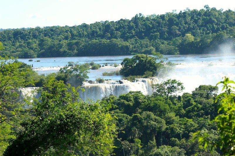 Les chutes d'Iguazu - BRESIL : des vues panoramiques