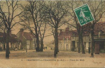 Chaumont sur Tharonne, Un village en couleurs en 1910.
