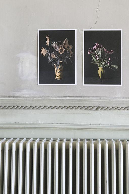 Pour les journées Européennes du patrimoine   installation  de photographies dans la salle des mariages de l'ancien Hôtel de ville et dans l'Eglise Pierre et Paul de Givry
