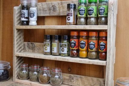 Large Rustic Spice S