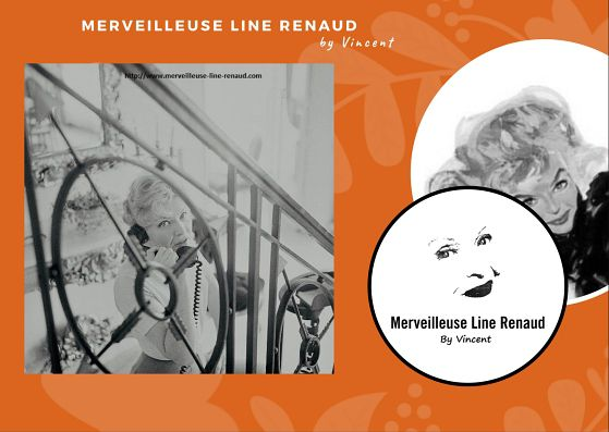 PHOTOS: Line renaud Chez Elle 1960