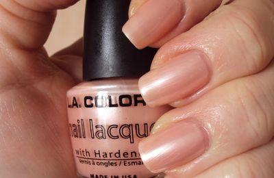 L.A. Colors Pink Pearl - Stick and Nails