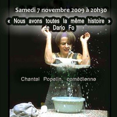 Chantal Popelin et battement d'elle