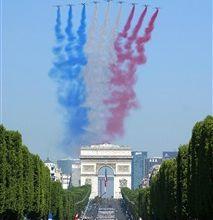 Dispositif spécial pour le défilé du 14 juillet sur France 2