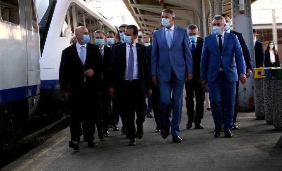 RoumanIE : Infrastructure ferroviaire – Le Président teste la ligne qui relie l'aéroport internationale à Bucarest !