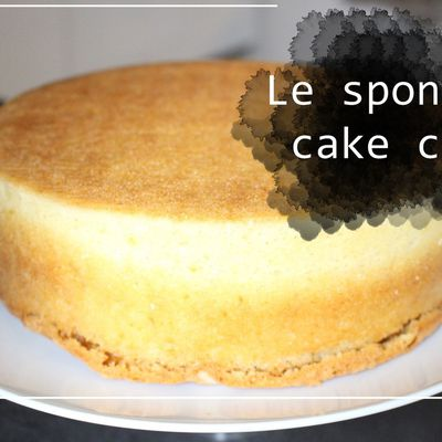 Le sponge cake coco | BASIQUE #9