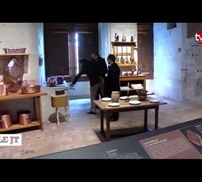 Reconstitution des cuisines du XVIIIème siècle de Chambord