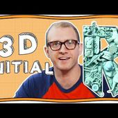 How to Make A 3D Initial | Art Ninja | Nugget