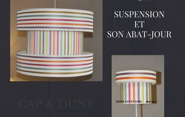 SUSPENSION CYLINDRIQUE