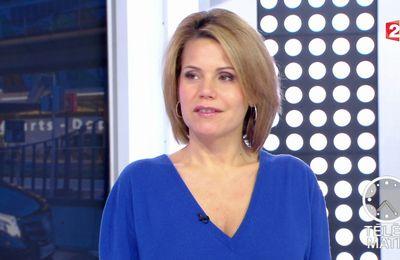 📸8 LAURA TENOUDJI @lauratenoudji ce matin @telematin @France2tv #vuesalatele