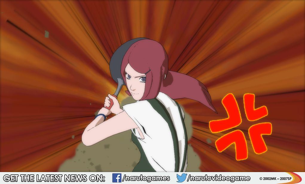 KUSHINA UZUMAKI rejoint la bataille dans Naruto Shippuden Ultimate Ninja Storm Revolution