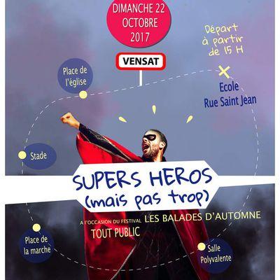 "Balade Animée ""SUPERS HEROS (mais pas trop)"""
