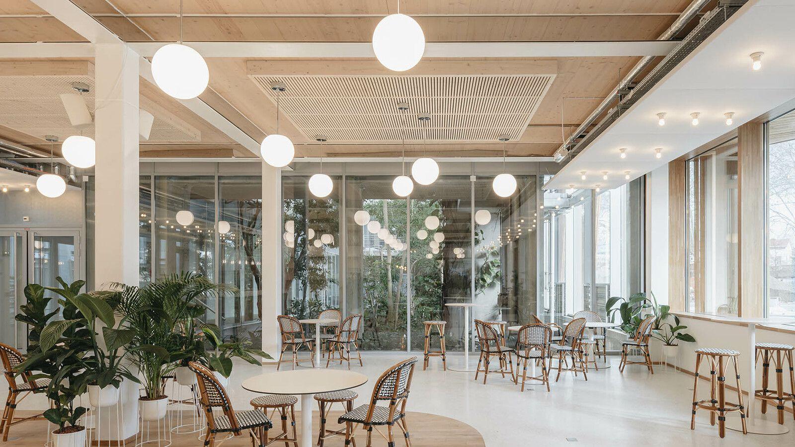 Siège social de Michelin - Le bâtiment d'accueil