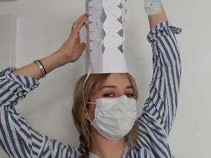 Bal masqué pour mes étudiants à l'école supérieure d'Art et Design de Marseille. Je leur tire mon chapeau !!!