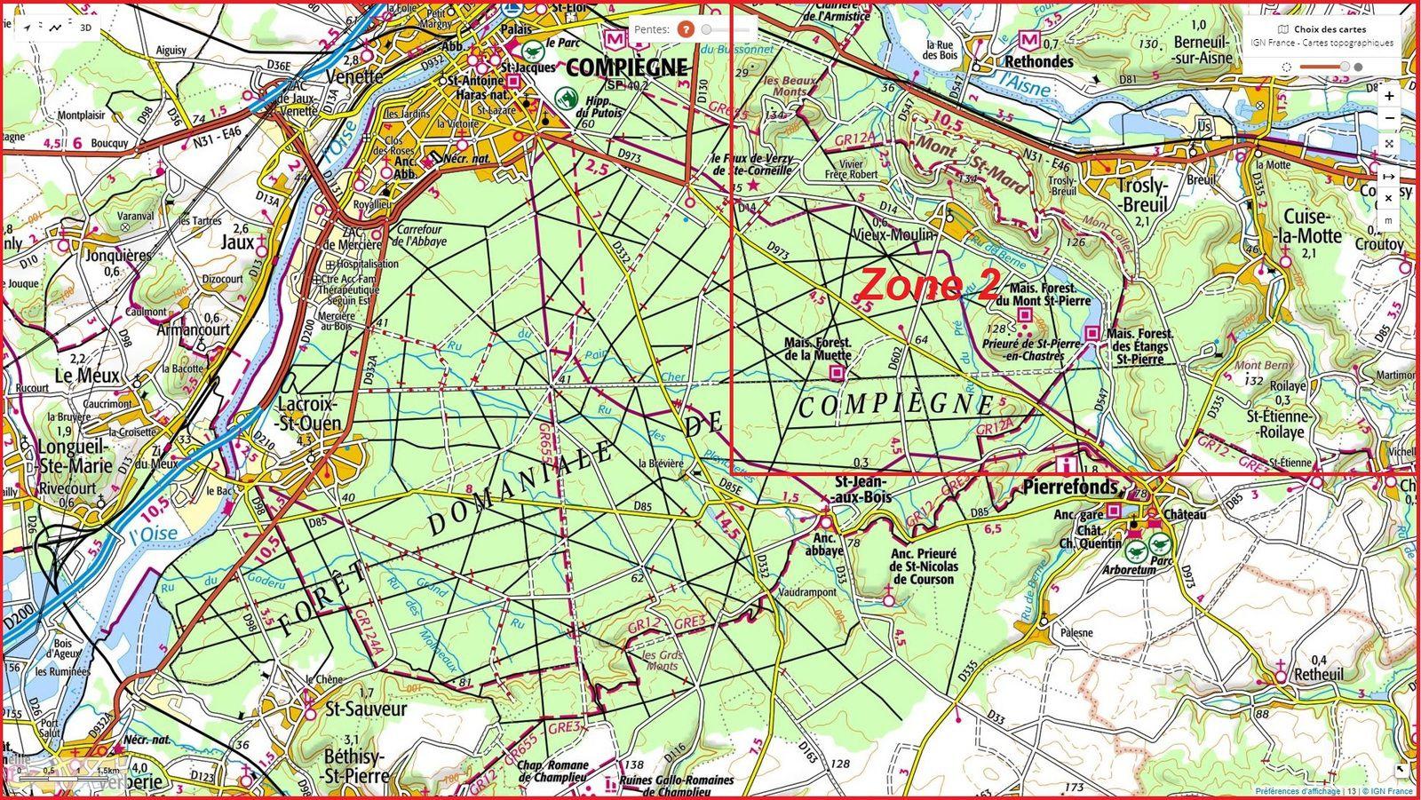 carrefour_Route de Saint-Pierre_Route des étangs Varins