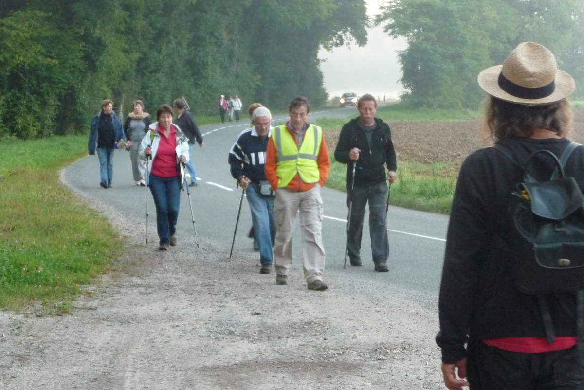 Arrivée au carrefour Craonnelle - Craonne