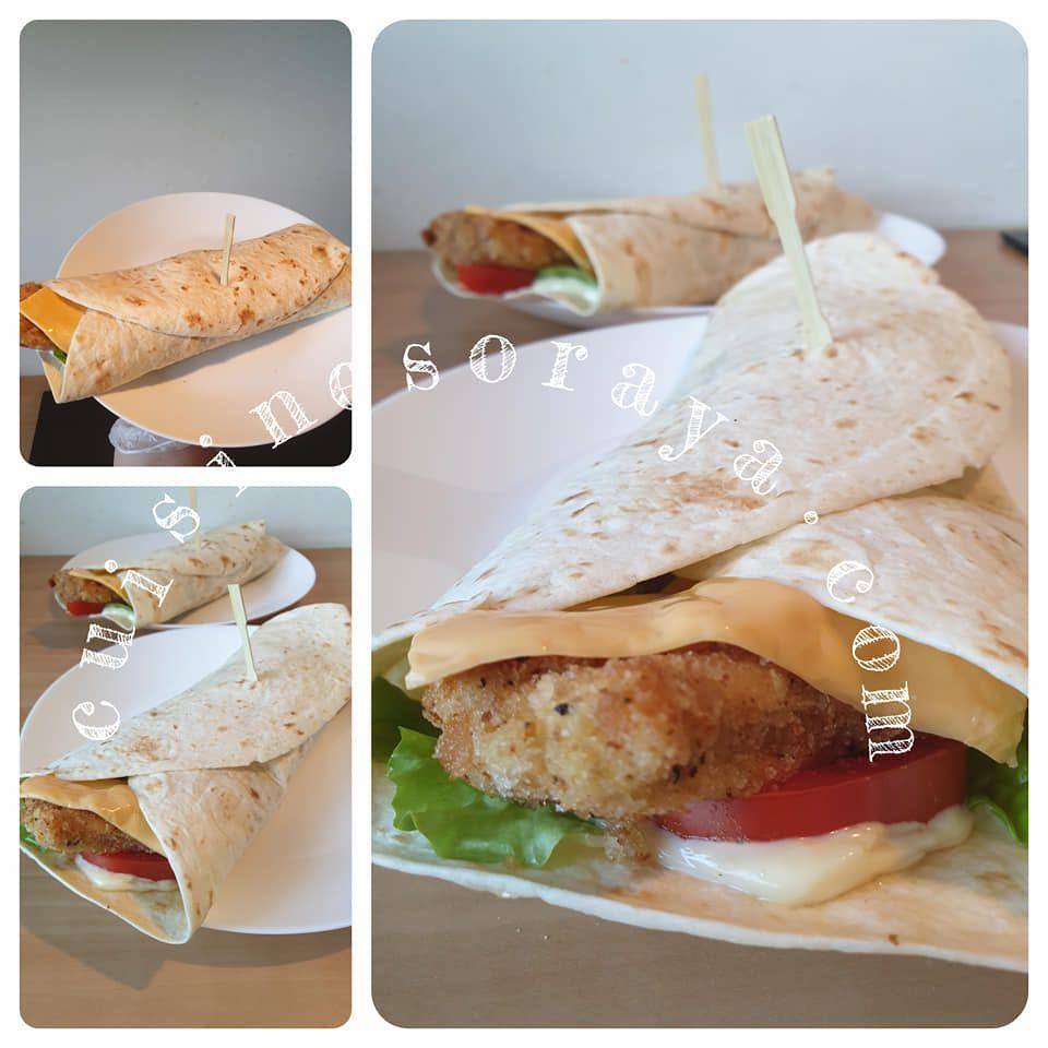 Wrap poulet
