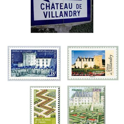 Jardins du château de VILLANDRY (Indre et Loire)