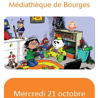 Des enfants & des écrans à Bourges mercredi 21 octobre 2020