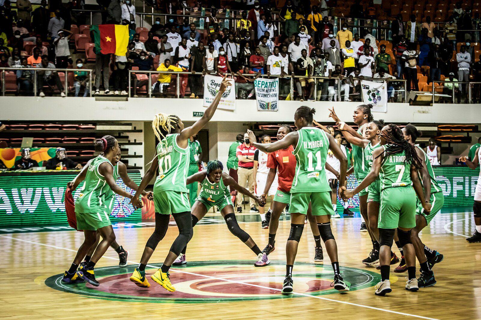 AfroBasket Women 2021 : le Mali qualifié pour la finale en battant le Cameroun