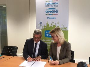 Signature de la convention de partenariat Engie-Académie de Reims