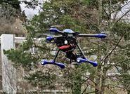 Drone de surveillance du réseau routier .