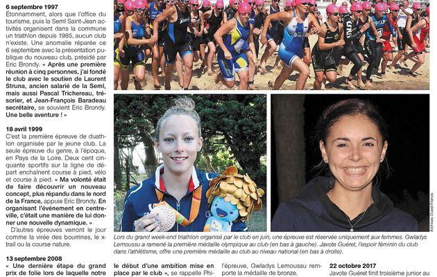 20 ans du Saint Jean de Monts Triathlon Club Vendée Athlétisme,