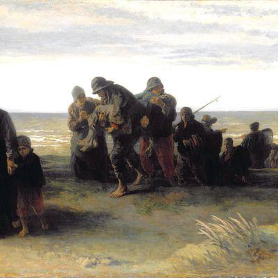 Terrible noyade en Loire le 03 juillet 1899