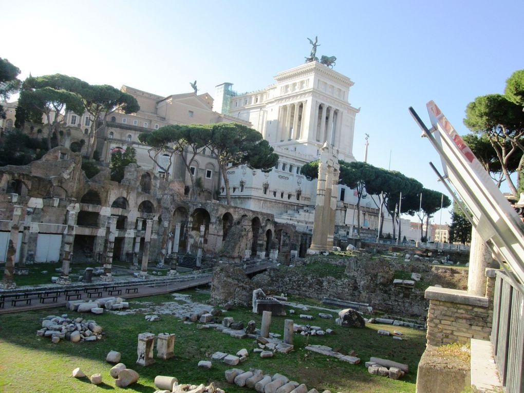 Voyage ....... Vacances romaines : les deux premières journées