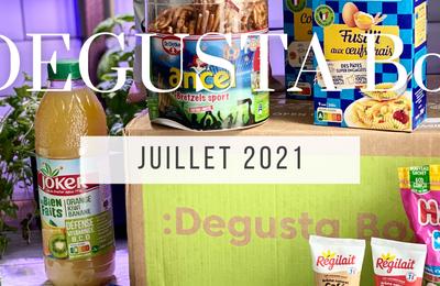 What's in the :DEGUSTA Box : Juillet 2021 à la française