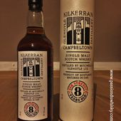 Kilkerran 8Y - Cask Strength - Passion du Whisky