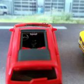 RENAULT TWINGO ROUGE DECAPOTABLE HERPA 1/87. - car-collector.net
