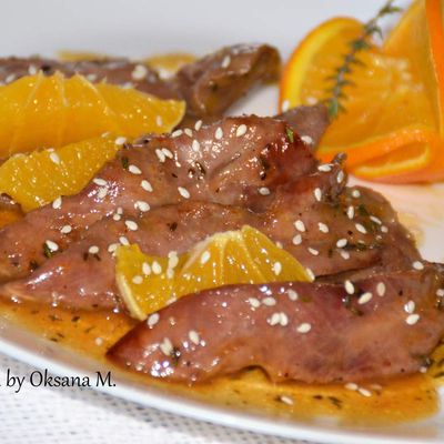 Duck Aiguillettes (sliced duck fillet)
