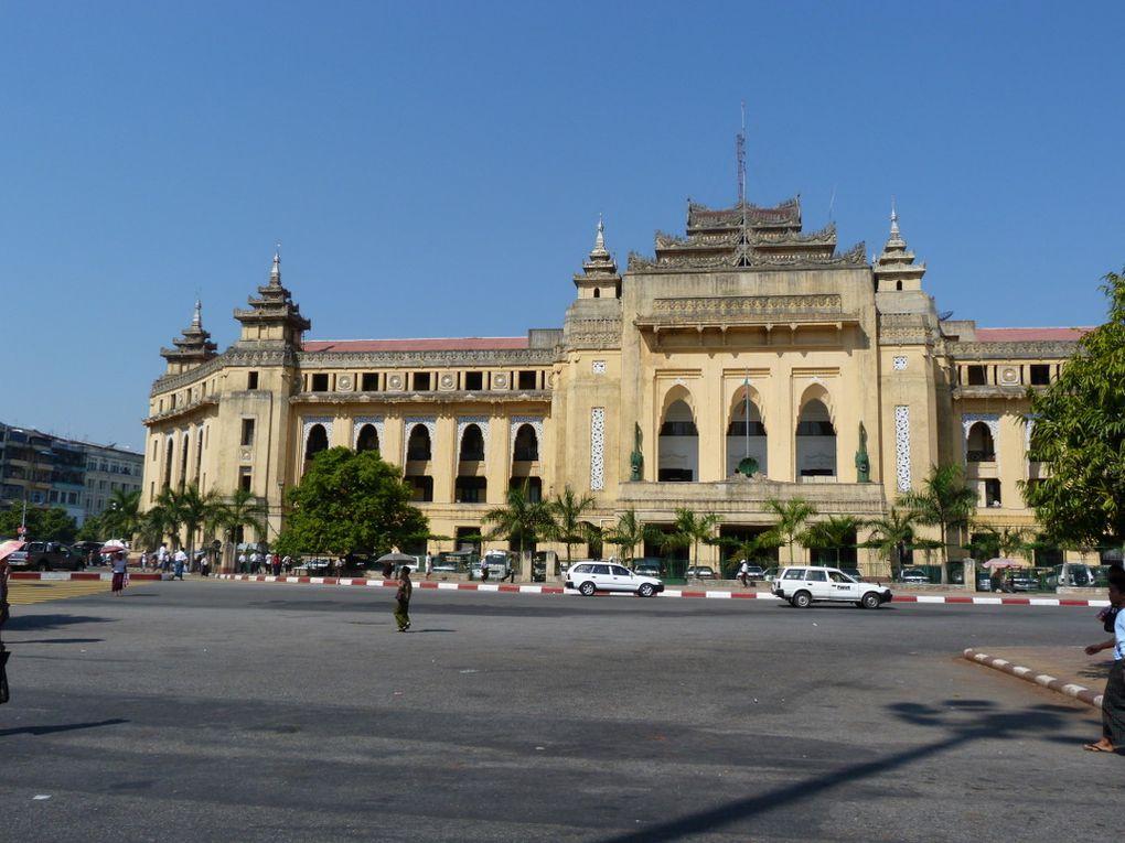 visite de Yangon (Rangoon) la capitale
