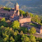 Château du Haut-Koenigsbourg : visite de château, tourisme en Alsace