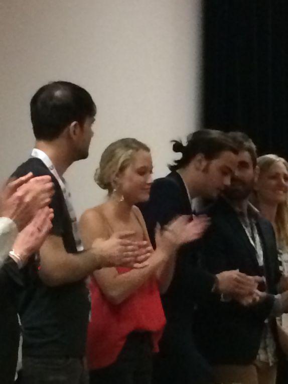 l'équipe du film lors de la première présentation mondiale du film