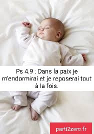 """Psaume de David 04 : """" Prière du soir """""""