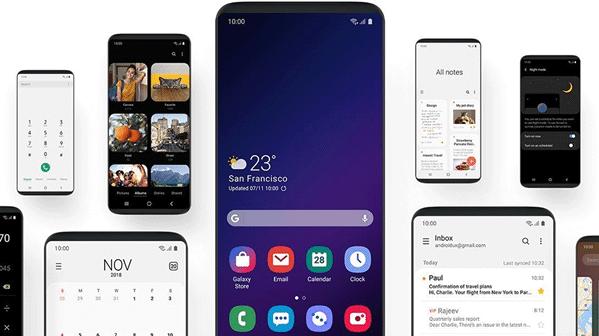Samsung met à jour One UI pour résoudre les problèmes de rotation du fond d'écran sur Galaxy S10 et Note 10