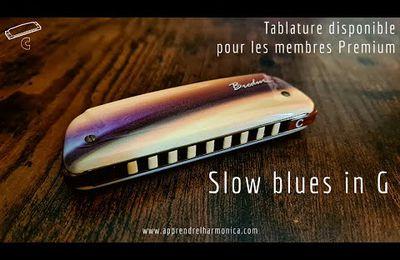 Slow Blues - Harmonica C