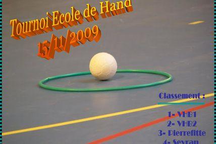 Ecole de Hand (15/11/09)