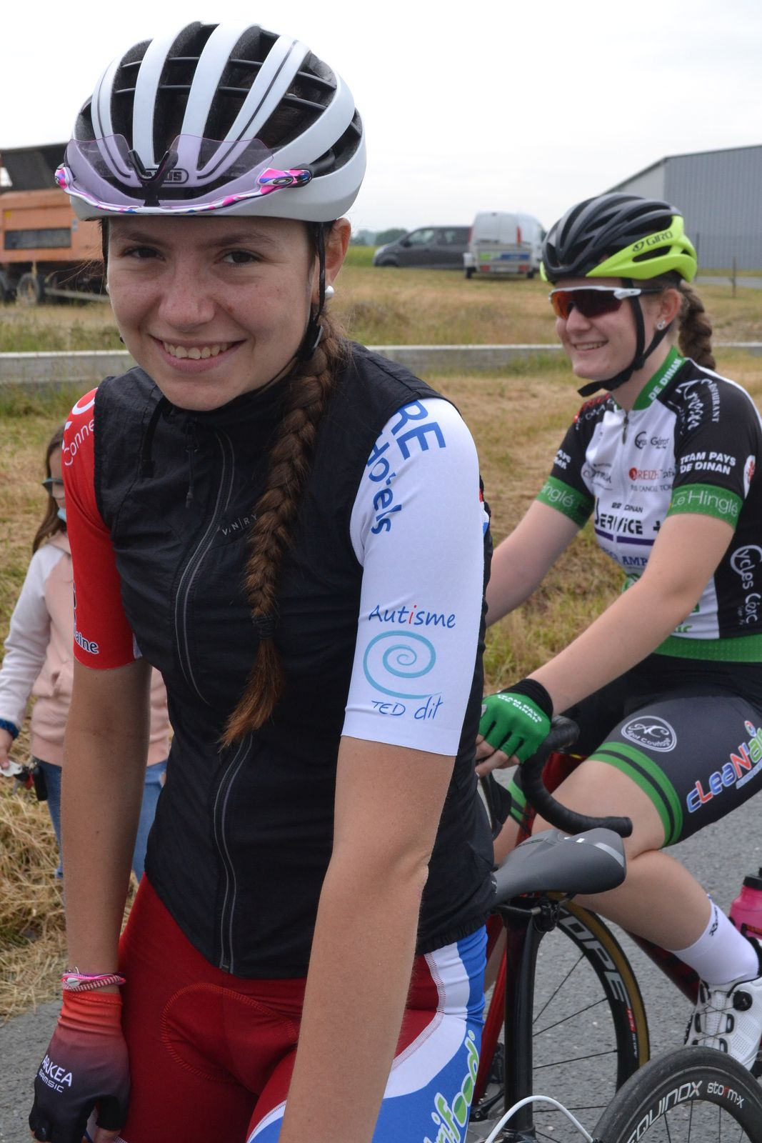 Florine AMICE (US Vern sur Seiche) et Manon COUALAN (TP Dinan)