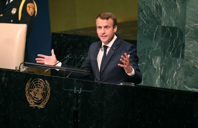 Macron's Watch n°22 : la duplicité faite homme ? Discours à l'ONU; De Maurice Audin aux Harkis.