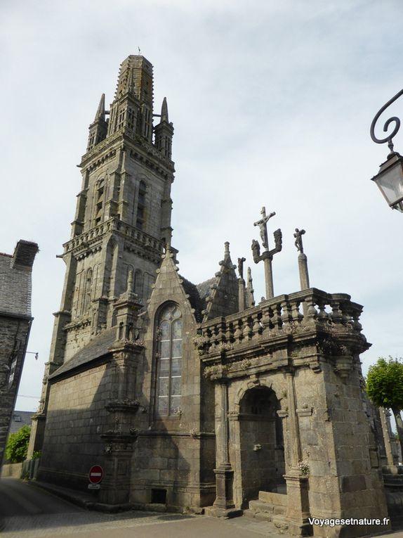 Les 3 églises et enclos emblématiques du parcours : St-Trégonnec, Guimilliau et Lampaul-Guimilliau