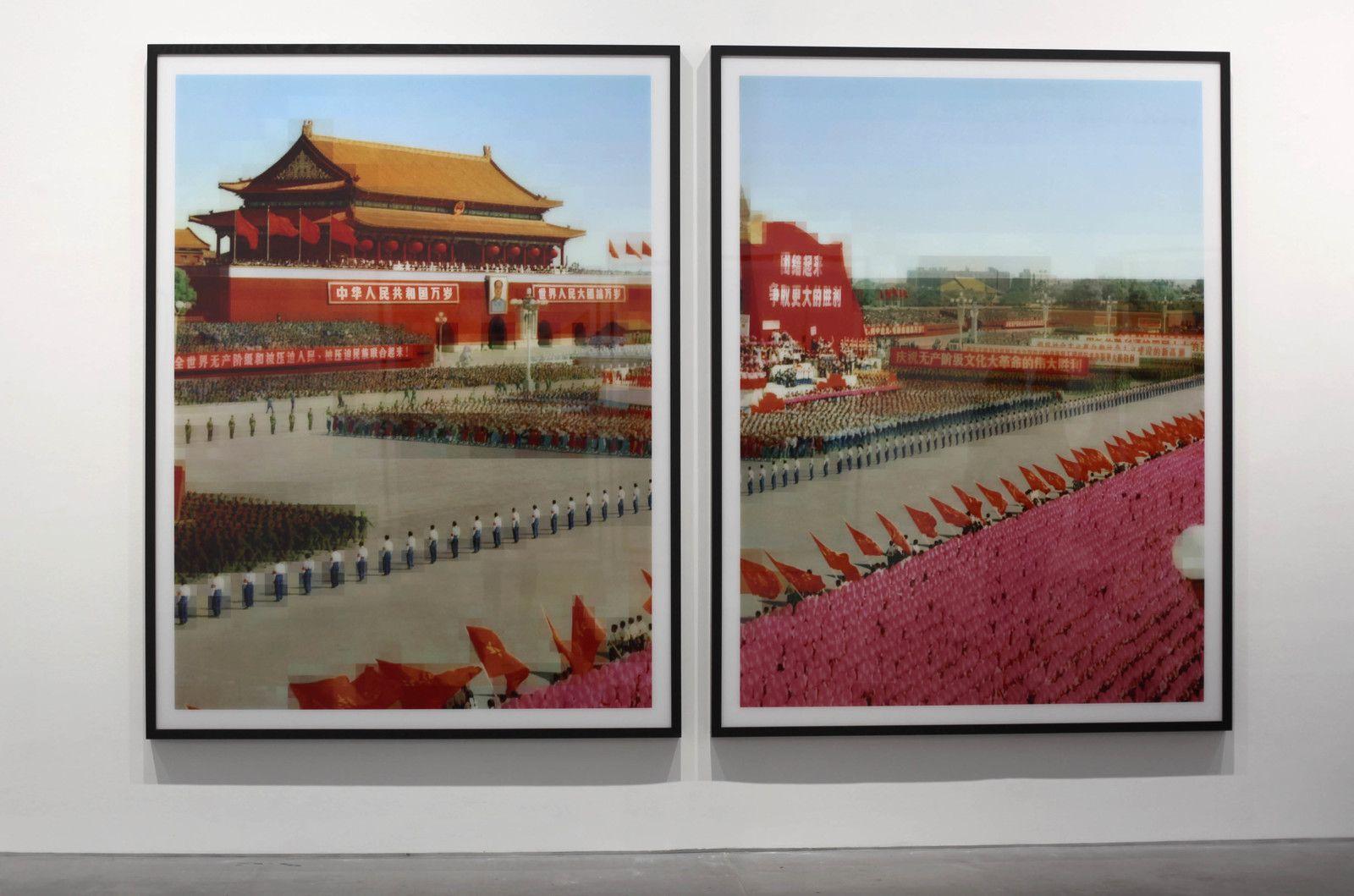 """""""Tableau Chinois"""" 2019 de Thomas RUFF - Courtesy de l'artiste et de la Galerie David Zwirner"""