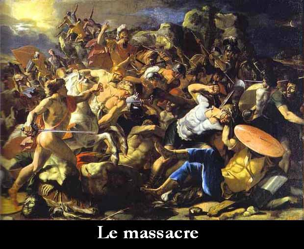 La nuit du massacre.
