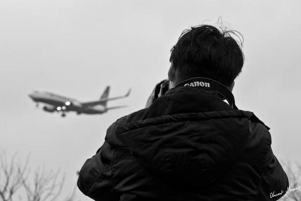 """Définition du photographe aéronautique, ou """"spotter"""""""