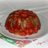 Aspic de fruits